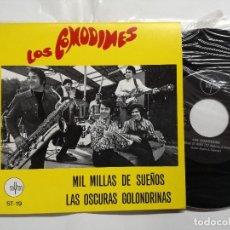 Discos de vinilo: LOS COMODINES - MIL MILLAS DE SUEÑOS / LAS OSCURAS GOLONDRINAS - SAYTON 1969. Lote 120753559