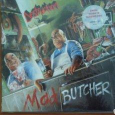 Discos de vinilo: DESTRUCTION --MAD BUTCHER-1988-RED VINIL.. Lote 120800250