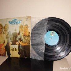 Discos de vinilo: ABBA -BJORN BENNY AGNETHA FRIDA- WATERLOO -1 PREMIO EUROVISION 1974-CARNABY-SPAIN- . Lote 120803147