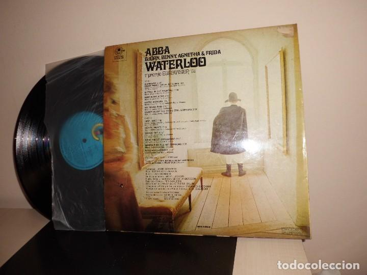 Discos de vinilo: abba -bjorn benny agnetha frida- waterloo -1 premio eurovision 1974-carnaby-spain- - Foto 2 - 120803147