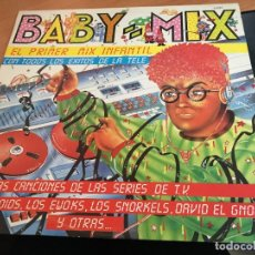 Discos de vinilo: BABY MIX PRIMER MIX INFANTIL MAXI ESPAÑA 1987 (VIN-A1). Lote 120803539