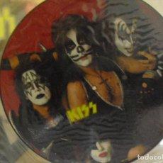 Discos de vinilo: KISS: PICTURE DISC- FOTODISCO-LIMITED EDITION INTERVIEW-EXCELENTE!!. Lote 120814155