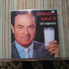 Discos de vinilo: SINIESTRO TOTAL II-EL REGRESO LP. Lote 120821963