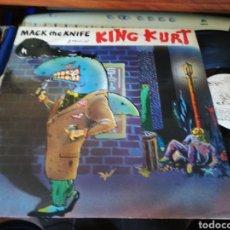 Discos de vinilo: KING KURT MAXI MACK THE KNIFE INGLATERRA 1984. Lote 120824455