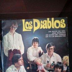 Discos de vinilo: SINGLE: LOS DIABLOS . 1970. Lote 120834859