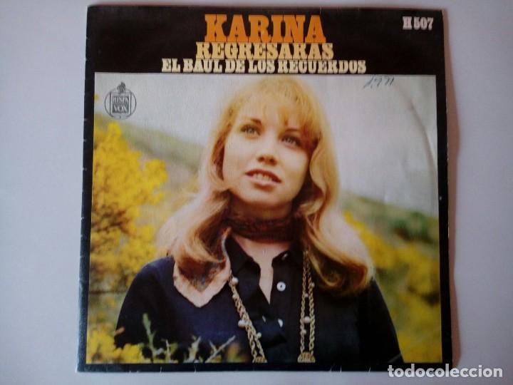 SINGLE: KARINA . EL BAUL DE LOS RECUERDOS. 1969 (Música - Discos - Singles Vinilo - Solistas Españoles de los 50 y 60)