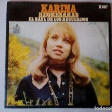 Discos de vinilo: SINGLE: KARINA . EL BAUL DE LOS RECUERDOS. 1969. Lote 120835151