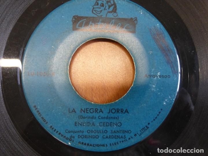 ENEIDA CEDEÑO Y DORINDO CÁRDENAS CON SU CONJUNTO ORGULLO SANTEÑO - SENTIMIENTO DEL ALMA - PANAMA (Música - Discos - Singles Vinilo - Grupos y Solistas de latinoamérica)