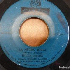 Discos de vinilo: ENEIDA CEDEÑO Y DORINDO CÁRDENAS CON SU CONJUNTO ORGULLO SANTEÑO - SENTIMIENTO DEL ALMA - PANAMA. Lote 120836751