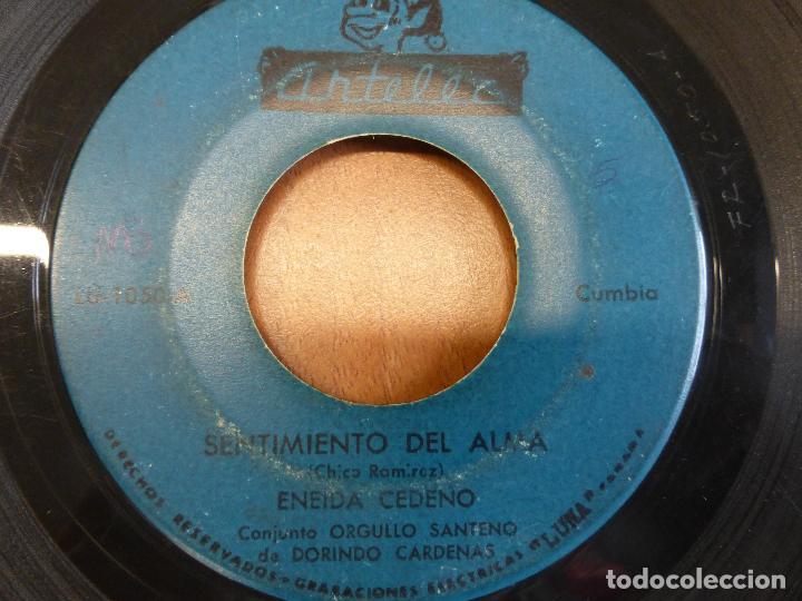Discos de vinilo: Eneida Cedeño Y Dorindo Cárdenas Con Su Conjunto Orgullo Santeño - SENTIMIENTO DEL ALMA - PANAMA - Foto 2 - 120836751