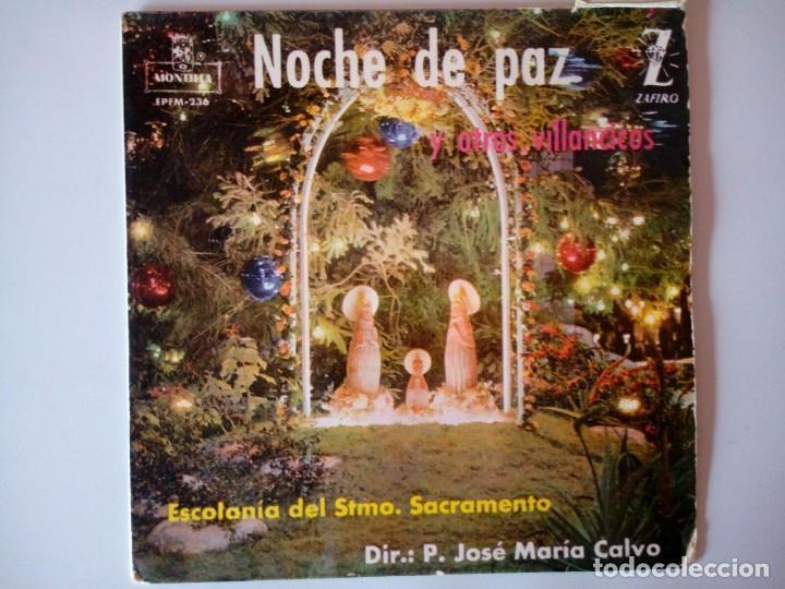 SINGLE: VILLANCICO NOCHE DE PAZ (Música - Discos - Singles Vinilo - Música Infantil)