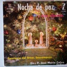 Discos de vinilo: SINGLE: VILLANCICO NOCHE DE PAZ. Lote 120838263