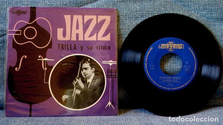 TRILLA Y SU RITMO - JAZZ EP 1966 GUITARRA SWING RAREZA DEL JAZZ ESPAÑOL SOLO DISTRIBUIDO A RADIOS EX (Música - Discos de Vinilo - EPs - Jazz, Jazz-Rock, Blues y R&B)