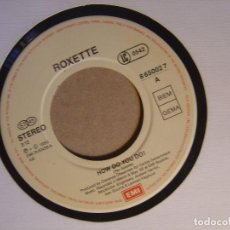 Discos de vinil: ROXETTE - HOW DO YOU DO + FADING LIKE A FLOWER - SINGLE EEC EMI - 1992. Lote 120842151