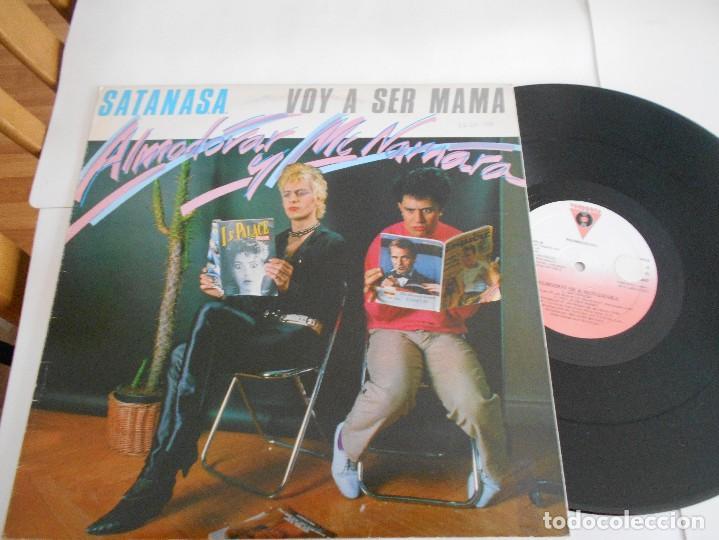 ALMODOVAR & MCNAMARA-MAXI SATANASA (Música - Discos de Vinilo - Maxi Singles - Grupos Españoles de los 70 y 80)