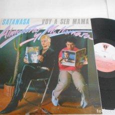 Discos de vinilo: ALMODOVAR & MCNAMARA-MAXI SATANASA. Lote 120844311
