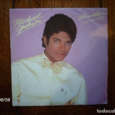 Discos de vinilo: MICHAEL JACKSON - THRILLER (SPECIAL EDIT) + THINGS I DO FOR YOU . Lote 120907867