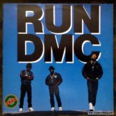 Discos de vinilo: RUN DMC – TOUGHER THAN LEATHER LP SPAIN 1ª EDICIÓN 1988 . Lote 120916775