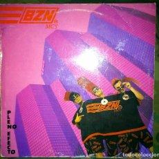 Discos de vinilo: BZN – PLENO EFECTO LP SPAIN 1990 CON ENCARTE LETRAS - HIP HOP RAP DE AQUI. Lote 120917003