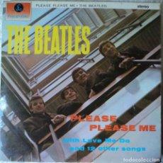 Discos de vinilo: THE BEATLES - PLEASE PLEASE ME - 2.ª EDICIÓN DE 1963 DE ENGLAND - ESTEREO. Lote 120925615