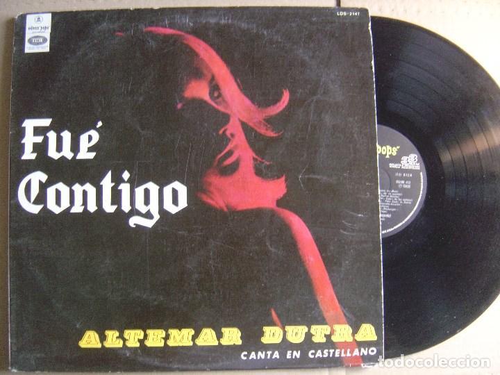 ALTEMAR DUTRA - CANTA EN CASTELLANO - FUE CONTIGO - LP ARGENTINO ODEON - 1968 (Música - Discos de Vinilo - EPs - Grupos y Solistas de latinoamérica)