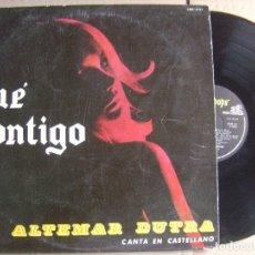 Discos de vinilo: ALTEMAR DUTRA - CANTA EN CASTELLANO - FUE CONTIGO - LP ARGENTINO ODEON - 1968. Lote 120927739