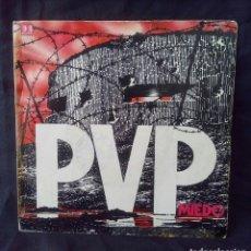 Discos de vinilo: P.V.P.-MIEDO.1.982.. Lote 120928199