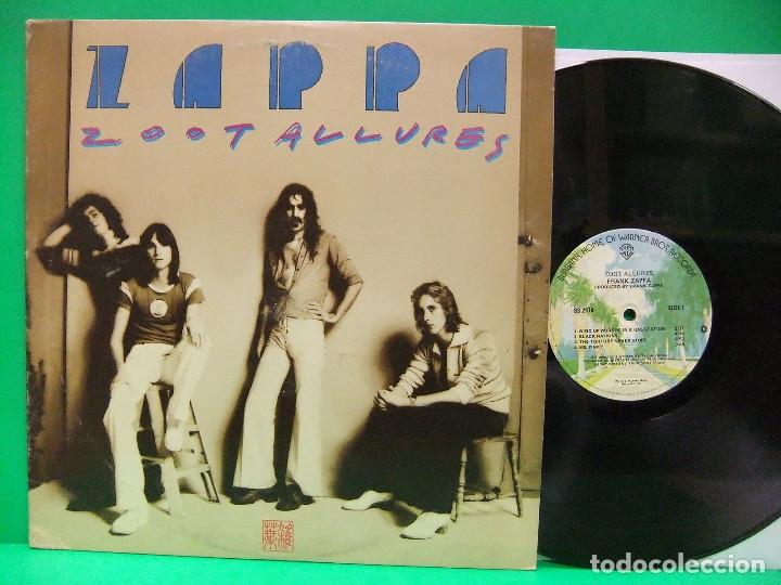 FRANK ZAPPA / ZOOT ALLURES 1976 !! CAPTAIN BEEFHEART, 1ª EDIC ORG USA, VINILO EXC (Música - Discos - LP Vinilo - Pop - Rock - Extranjero de los 70)