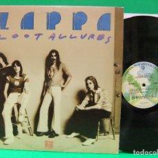 Discos de vinilo: FRANK ZAPPA / ZOOT ALLURES 1976 !! CAPTAIN BEEFHEART, 1ª EDIC ORG USA, VINILO EXC. Lote 120931762