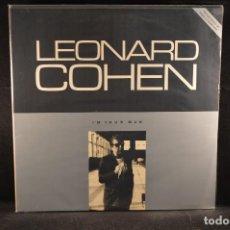 Discos de vinilo: LEONARD COHEN - I´M YOUR MAN - LP. Lote 120947047