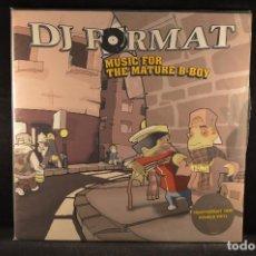 Discos de vinilo: DJ FORMAT - MUSIC FOR THE MATURE B-BOY - 2 LP. Lote 120950063