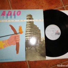 Discos de vinilo: RADIO FUTURA ESCUELA DE CALOR / UN AFRICANO POR LA GRAN VIA MAXI SINGLE VINILO 1984 SANTIAGO AUSERON. Lote 120956663