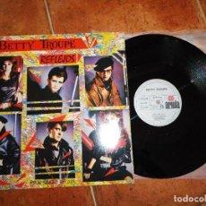 Discos de vinilo: BETTY TROUPE REFLEJOS / NUEVOS HEROES / NIEVE EN EL SOL MAXI SINGLE VINILO 1984 NACHO CANO MECANO. Lote 120960223
