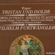 Discos de vinilo: WAGNER*, WILHELM FURTWÄNGLER, THE PHILHARMONIA ORCHESTRA* . Lote 120963211
