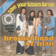 Discos de vinilo: VENDO SINGLE DE BROTHERHOOD OF MAN (EUROVISIÓN´76), AÑO 1976, MAS INFORMACIÓN EN 2ª FOTO EN INTERIOR. Lote 120965867