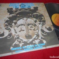 Discos de vinilo: ORQ.CAMARA MADRID DIR.BENITO LAURET MUSICA SINFONICA ASTURIANA LP 1976 CBS SPAIN ASTURIAS. Lote 120977483