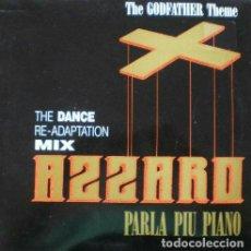 Discos de vinilo: AZZARO – PARLA PIU PIANO (THE GODFATHER THEME) (THE DANCE RE-ADAPTATION MIX) [ED.:ESPAÑA, 1992]. Lote 120981467