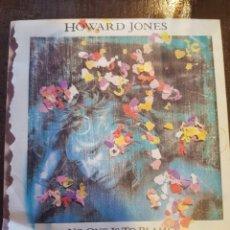 Discos de vinilo: HOWARD JONES. NO ONE IS TO BLAME. SINGLE. VINILO. WEA. 1986. Lote 120991715