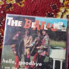 Discos de vinilo: SINGLE THE BEATLES- HELLO GOODBYE, I AM THE WALRUS, 1967.. Lote 121000794