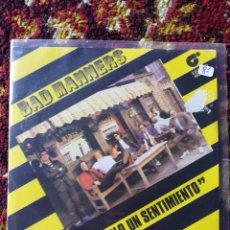 Discos de vinilo: SINGLE BAD MANNERS- SOLO UN SENTIMIENTO, 1980.. Lote 121004671