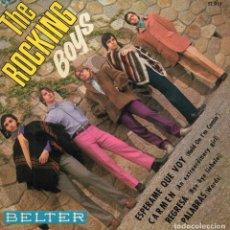 Discos de vinilo: ROCKING BOYS, EP, ESPERAME QUE VOY + CARMEN + 2, AÑO 1968. Lote 121011439