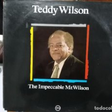 Discos de vinilo: TEDDY WILSON, MAESTROS DEL JAZZ - THE IMPECCABLE MR. WILSON - LP. DEL SELLO VERME . Lote 121020695