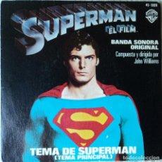 Disques de vinyle: SUPERMÁN - BSO - EDICIÓN DE 1978 DE ESPAÑA. Lote 121021147