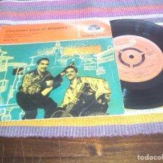 Discos de vinilo: CANCIONES PARA EL ROMANCE EP POLYDOR PLEGARIA GUADALUPANA LA BORRACHITA LA PALOMA CANTO GUAJIRO. Lote 121035615