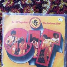 Discos de vinilo: SINGLE THE JACKSON 5- GET IT TOGETHER, 1974.. Lote 121044688