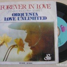 Discos de vinilo: ORQUESTA LOVE UNLIMITED - ENAMORADO PARA SIEMPRE + SOLO TU PUEDES ENTRISTECERME -SINGLE ESP. 1975 - . Lote 121045331