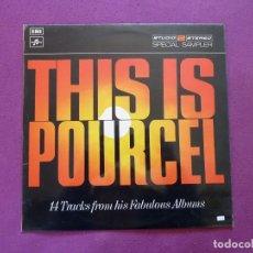 Discos de vinilo: FRANCK POURCEL THIS IS POURCEL. Lote 121047355