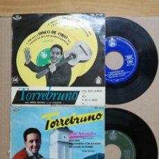Discos de vinilo: DOS SINGLES DE TORREBRUNO. Lote 121049375
