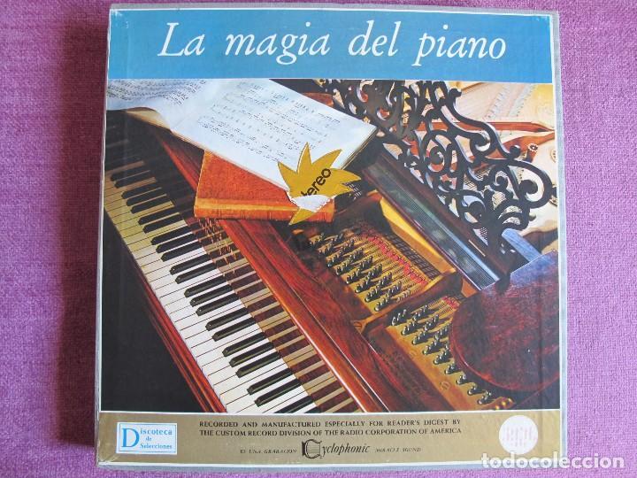 LP - LA MAGIA DEL PIANO - VARIOS (CAJA CON 10 LP'S, SPAIN, READER'S DIGET 1965, VER FOTOS ADJUNTAS) (Música - Discos - LP Vinilo - Clásica, Ópera, Zarzuela y Marchas)