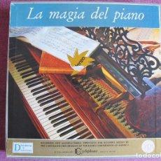 Discos de vinilo: LP - LA MAGIA DEL PIANO - VARIOS (CAJA CON 10 LP'S, SPAIN, READER'S DIGET 1965, VER FOTOS ADJUNTAS). Lote 121050751
